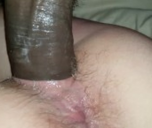 Close Up White Girl Cumming On Black Cock