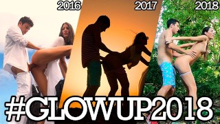 3 Years Fucking Around the World - Compilation #GlowUp2018
