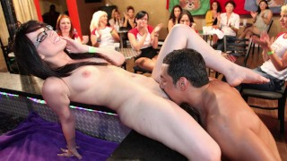 DANCING BEAR - Group Of Horny Women Taking Dick From Male Strippers