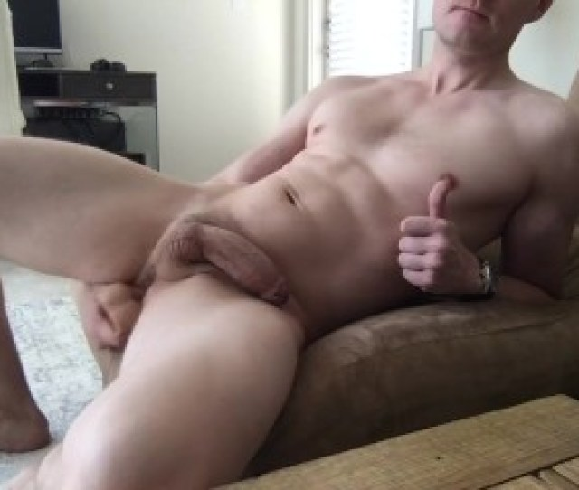 Guy Fucks Himself And Cums