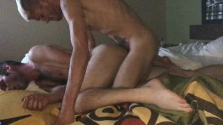 Straight submissive breading, first time cum dump from skinny uncut twink!