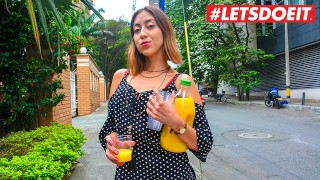 LETSDOEIT - Colombian Teen Picked Up From The Street For Some Fuck