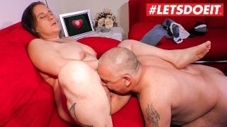 LETSDOEIT - Fat German Granny Picked Up And Fucked