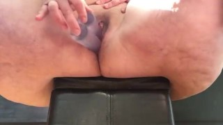Watch me jam three dildos into my fat slutty pussy and squirt everywhere!