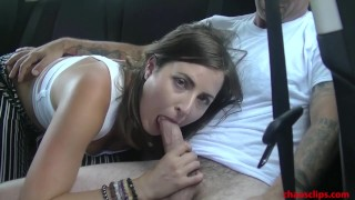 Helena Price Cheating and Sucking Dick in Car