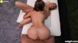Anal Creampie Ending For An Amazing MILF Threesome