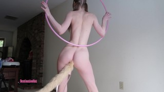 Hooping With a Tail Plug