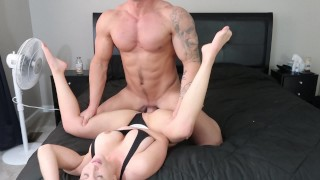 Milf and Stud fuck (HOT)