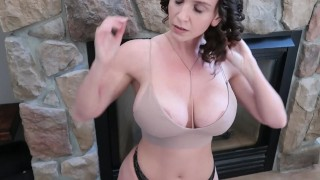 Must watch Milf drilled by the fireplace