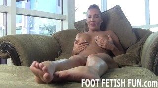 POV Foot Fetish And Femdom Feet Worshiping Videos