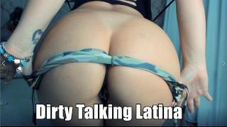 ENGLISH PORTUGUES AND SPANISH DIRTY TALKING, LATINA BIGG BOOBS HOT BABE