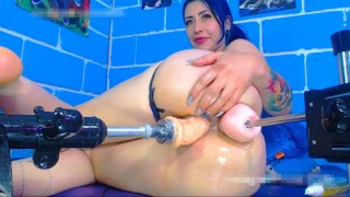 karlakole  (double fuck machine squirt)