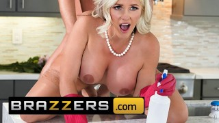 Brazzers - Fucking my girls busty mom, Alena Croft
