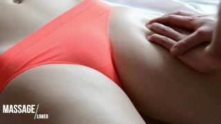 HOT Amateur Massage - Sensual massage of Pussy area