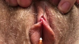 Needle Through Her Clit