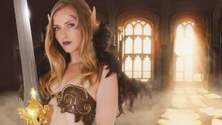 Whorecraft Elf Karla Kush Wants Your Warrior Cock - 180VR