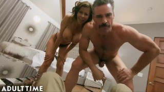 ADULT TIME Hot WIFE Alexis Fawx Cucks U with Police Officer!!!