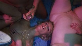 her first rough swinger fuck party