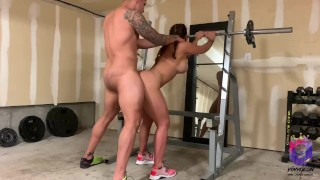 big butt puertorican gets fucked on leg day, you must see this!!!
