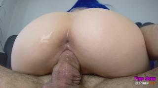 BIG ASS TEEN CLOSEP | COWGIRL CLOSEUP | CONDOM FUCK | CUMSHOT|RUINED ORGASM