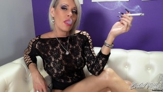 Nikki Ashton - SFW - Mature Goddess Smoking VS120
