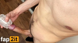 Guy Moaning Dirty Talk Masturbating Big Dick - Intense Shaking Orgasm 4K