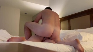 Young Girl Gets Fucked Hard by Best Friends Dad in Hotel Room