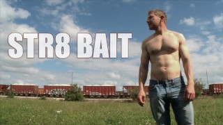 BAIT BUS - Her Straight Neighbor Alex Adams Goes Gay 4 Pay w/ Blake Savage