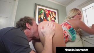Polish Pussy Perfect Natalie Starr Drilled By Hard Cock Guy!
