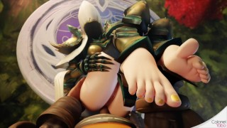 Diablo: Auriel & LI-Ming (Animation Compilation)