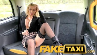 Fake Taxi Amber Jayne fucked by the suspected Son of John