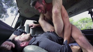 BAIT BUS - Jack Winters Gets His Straight Ass Fucked By Alex Mecum