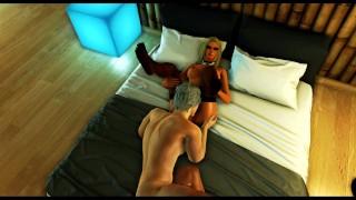 Hot police girl fucks lonely guy