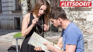 LETSDOEIT - Russian Slut Seduces and Fucks Local Czech Stud