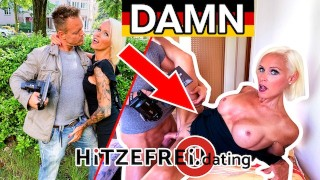 HITZEFREI.dating Blonde German MILF (47) hooked up on street (SOPHIE LOGAN)