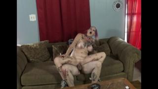 Chassidy Lynn - Smoking MILF, POV Doggy Creampie