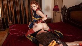 VRCosplayX Redhead Babe Aloy Fucks You As Long As You Can Take It