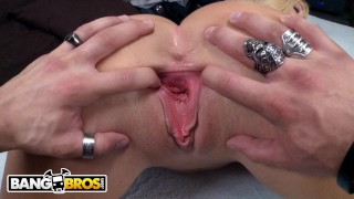 BANGBROS - Blonde MILF Summer Brielle Titty Fucks Xander Corvus