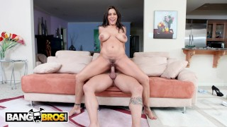 BANGBROS - Busty Mexican Goddess Raylene Taking Dick On Latina Rampage