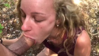 ONLY FANS - I got fucked, pussy creampie & pissing pussy in the forest