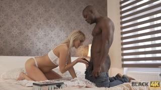 BLACK4K. Huge dick of black neighbor makes blonde lassies moan