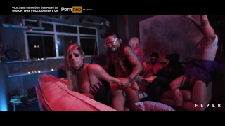 Mia Linz gets fucked by a BBC in a party house - FEVER FILMS