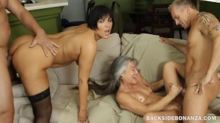 BACKSIDE Couples Swap Swinger Orgy Party