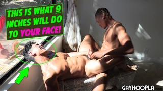 Real Pretty Italian Dude Gets Is ASSHOLE DESTROYED by sexy ass BBC!