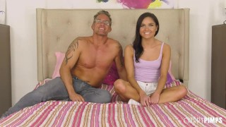 Petite Babe Zoe Bloom Squirts Wildly While Being Fucked Hard