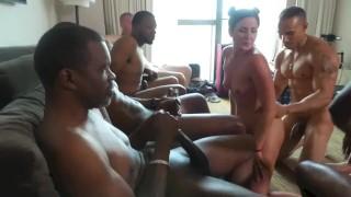 hotwife porno interracial cuckold gangbang
