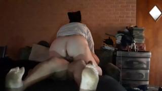 Bbw Vivian jiggly rides her man