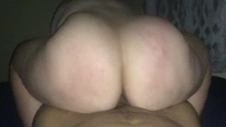 Pawg cheek clapping anal creampie