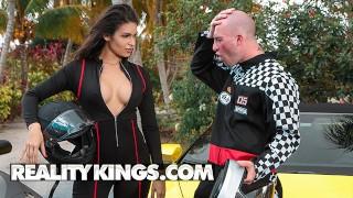 Reality Kings - Latina pornstar Katana Kombat loves fast car