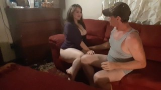 STEP DAD DOES PRACTICE INTERVIEW WITH STEP DAUGHTER FOR ADULT PORN SCENE!!
